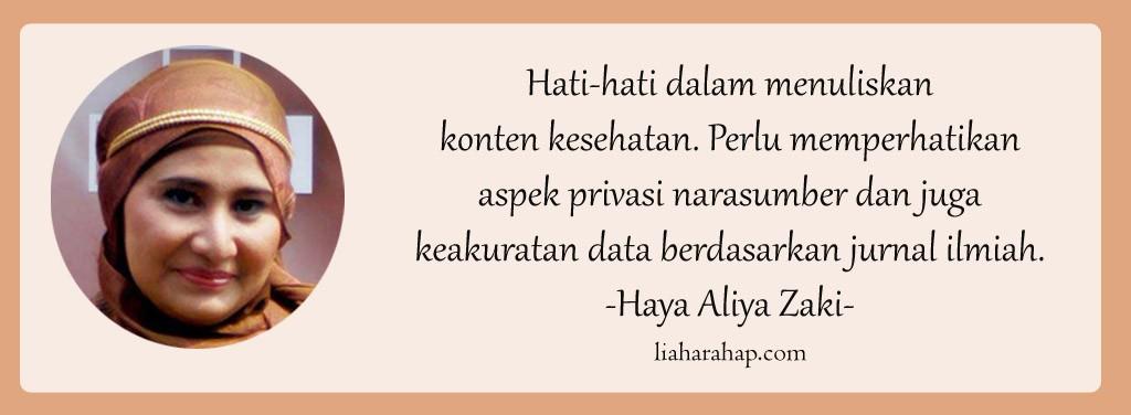 fun-blogging-in-harmony-health-haya-aliya-zaki-konten