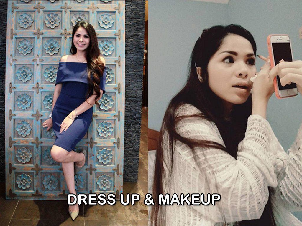 Gaya Fashion dan Makeup Windy Ghemary yang saya suka