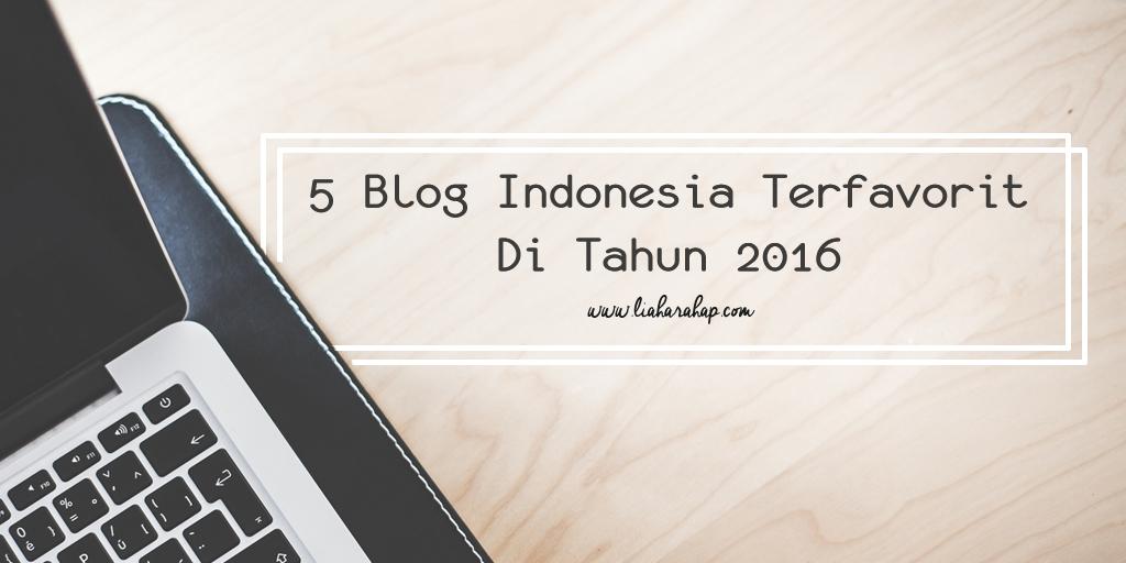 5 Blog Indonesia Favorit