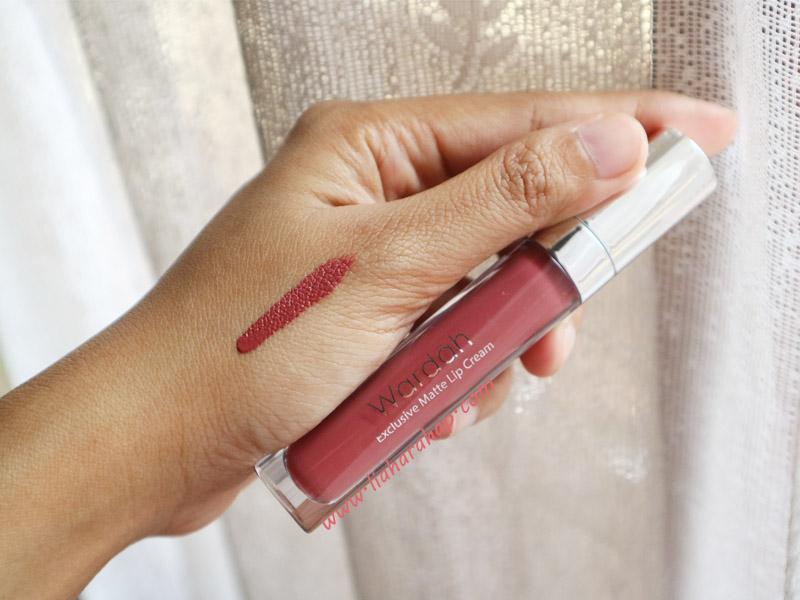 Wardah Exclusive Matte Lip Cream No. 17 Rosy Cheek