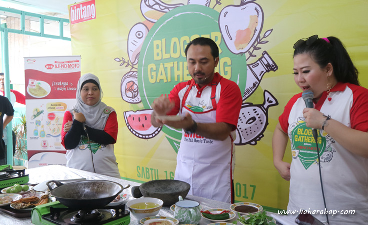 Chef Ari Galih Live Cooking Demo