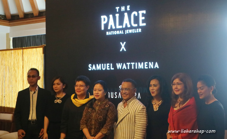 Koleksi Perhiasan Nusantara The Palace X Samuel Wattimena