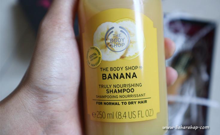 The Body Shop Banana Hair Care