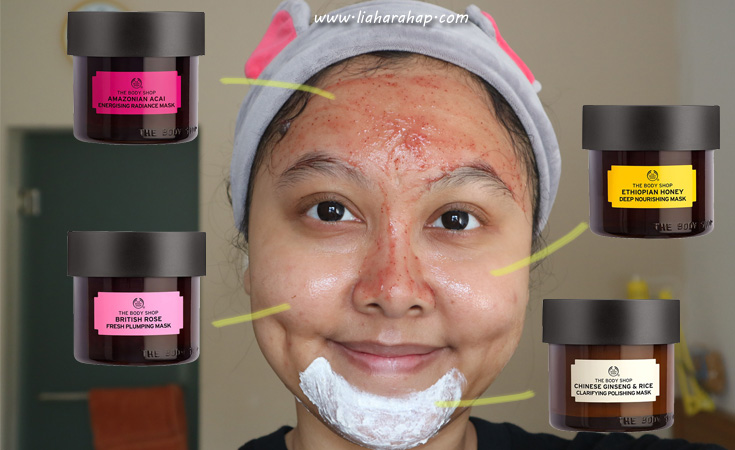 Review Masker The Body Shop Mask 6 Varian Lengkap Lia Harahap