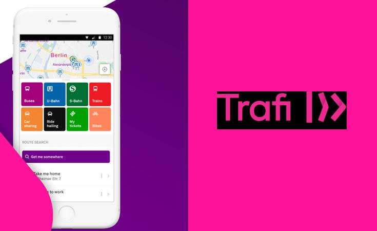 Trafi Aplikasi Transportasi Umum