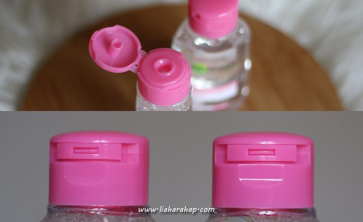 garnier micellar water kemasan