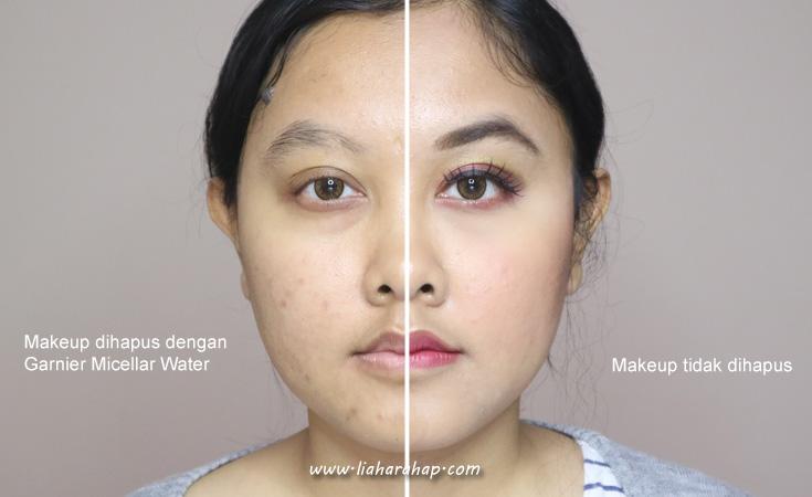 membersihkan wajah dari makeup