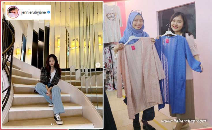 gaya kasual hijab