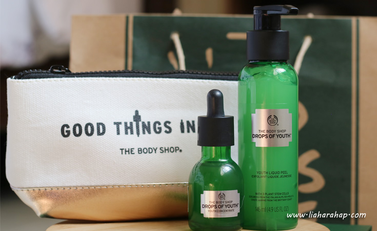 the body shop drops of youth liquid peel