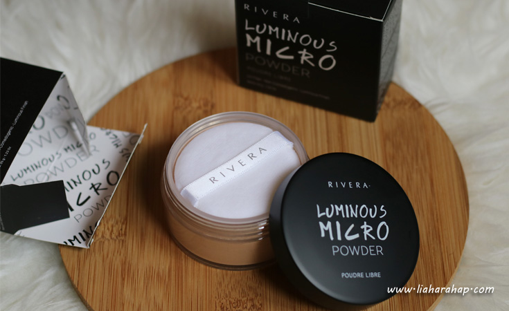 rivera cosmetics loose powder