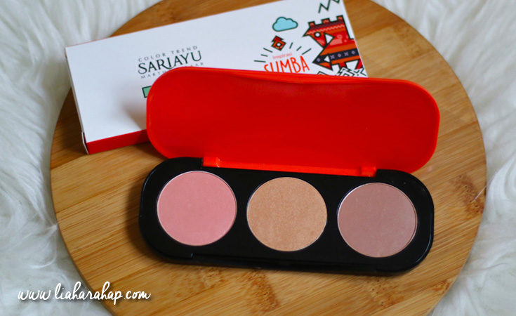cheek palette sariayu