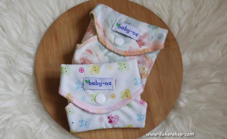 baby oz menstrual pad