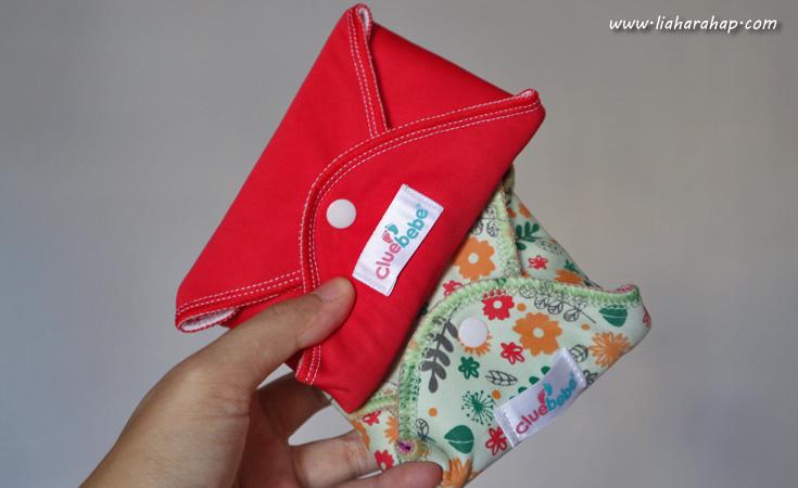 clue bebe menstrual pad