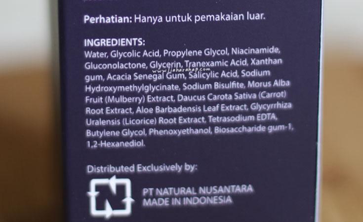 lacoco dark spot essence ingredients