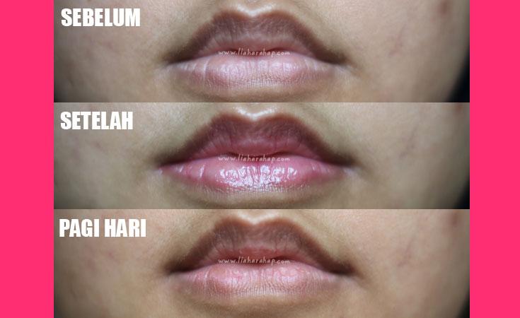 teratu beauty lip tinted bibir hitam